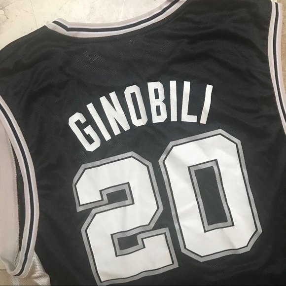 best sneakers 1a9c7 6497f ginobili jersey